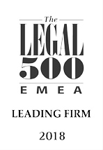 Legal 500 EMEA 2018 : recommended firm for IT